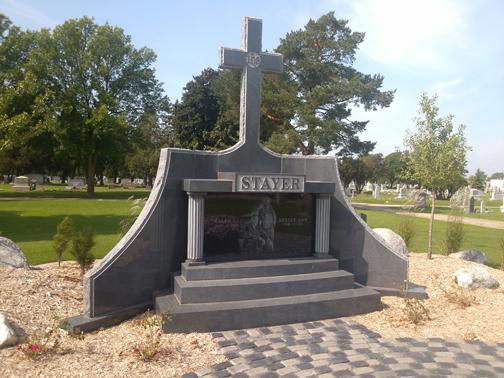 Monument Sales Calvary Cemetery Mausoleum